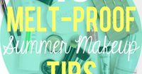 Is hot weather not playing well with your current makeup routine? This post has the best summer makeup tips to make sure you look your best no matter what!