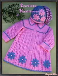 Knitting Crochet girls: jackets, vests, boleros. | Entries in category girls Knitting Crochet: jackets, vests, boleros. | World of my many h ...