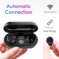 Bakeey HiFi TWS Wireless bluetooth 5.0 Earphone Smart Touch LED Display 6D Stereo IPX6 Waterproof Bilateral Call Headphone