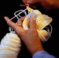 """How to Keep the Tension Even in Crochet. Hope this helps...this is my biggest """"ARGH"""" moment when I do pluck up the courage to pick up a crochet hook!!!"""