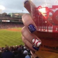 We've covered all the bases with these ballpark-themed manicure ideas.