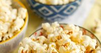 Several years ago I shared how to make your own homemade microwave popcorn, but it's been years since I've actually made it. We still don't have a microwave, an