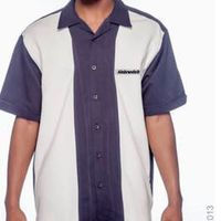 Men's Two-Tone Bahama Cord Camp Shirt by ALNBRANDS $45