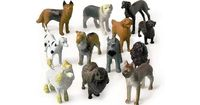 Puppy Dog Figures (12 Pack) | Wholesale Party Favors Decorations and Supplies