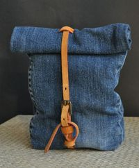 Recycled Jeans Bag http://www.handimania.com/sew/recycled-jeans-bag.html