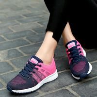 Women Cushion Sports Shoes Outdoor Breathable Sneakers $40.78