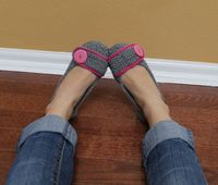Women's Button Slippers