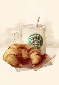 Starbucks Campaign by Mitchell Nelson, via Behance