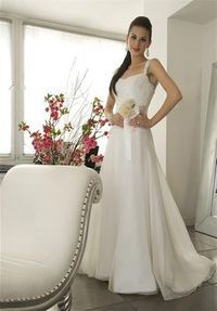 a-line silk organza and italian re-embroidered lace with court train