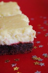 Red Velvet Cheesecake Bars [Directions are in the comments below]