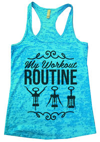 Funny Womens Tank Tops For Sale. # Tahiti Blue sports tank top.jpg