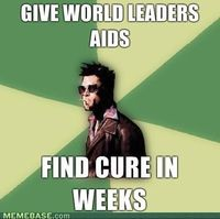 Tyler Durden has all the solutions