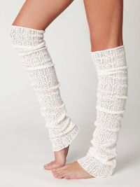 Pointelle Leg Warmers by freepeople #Leg Warmers #freepeople