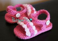 Crochet Pattern Sandals instant download by PatternMa on Etsy, $5.00