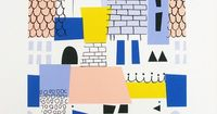 A3 Rooftops Giclee print by EstherCoxsKiosk on Etsy, £20.00