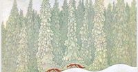 foxes, forest and snow- Lennart Helje