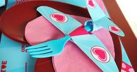 Fly Away With Me Valentine's Party - Airplane Party Ideas |