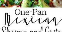 One Pan Mexican Shrimp and Grits. Smothered and Covered Style
