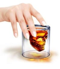 Fred & Friends Doomed Crystal Skull Shot Glass ( Buy 1 Get 1 Free) £9.99