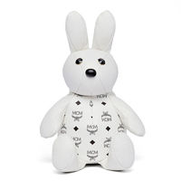 MCM Rabbit Doll Visetos Backpack In White