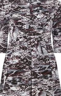 Dorothy Perkins Womens Izabel London Multi Purple Floral Dress- Multi purple floral dress. Round neckline. Cap sleeves. Unfastened. Length 83cm. 92% Polyester,8% Elastane. Cold hand wash. Dry cleanable. http://www.comparestoreprices.co.uk/dresses/...