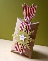 My Paper Secret - lovely pillow box design