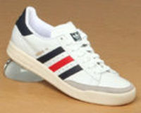 Adidas Tennis TC White/Navy/Red Leather Trainer Adidas Tennis TC White/Navy/Red Leather TrainerColourway; White New Navy Collegiate RedWhite leather uppers with trademark adidas 3 stripes in navy and red. Gorgeous thick lightweight synthetic so http://www...