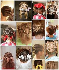 Little girl hair - DIY.....My girls expect me to be a hairdresser now that braids are so popular! Don't they know I have a BSN and haven't spent a day in cosmetology school?! Glad someone can show me how to do it!
