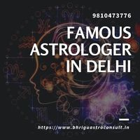 Famous Astrologer in Delhi Astrologer Shastri ji is the famous astrologer in Delhi. the Shastri ji is providing the best services of astrology. Contact us 9810473776 Visit us:: https://www.bhriguastroconsult.in