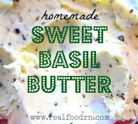 Sweet Basil Butter