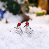 18K White Gold Plated Laser Cut Christmas Tree $21.00 Free Shipping
