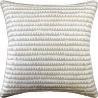 Corfu Stripe Sand Pillow by Ryan Studio $250.00