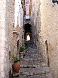 Saint-Paul-de-Vence, France - I have actually this street singing Christmas carols. what an experience