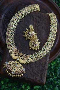 stunning &luxurious Indian traditional mango har with morden craftmanship. $230.00