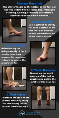 4 Exercise That Can Help With Plantar Fasciitis also very similar exercises for Achilles tendonitis.