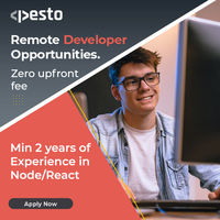 In-Demand Tech Skills for Remote Developers with Pesto Tech program. Apply now at https://pesto.tech/become-a-developer?utm source=SEO&utm medium=sowjanya&utm campaign=organic