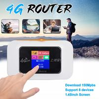 Portable 4G Wireless Router Mobile Wifi Hotspot All-netcom Unlimited Traffic Vehicle-mounted Mifi Portable WIFI Repeater