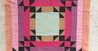 �€œEbb and Flow quilts coming together in class