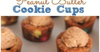 These Chocolate Peanut Butter Cookie Cups are pure Joy! Full of all of our favorite ingredients, these little sweet cups are sure to put a smile on