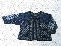 absolutely gorgeous intricate baby sweater