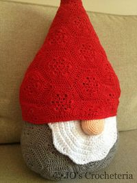 Christmas Crochet Pattern Santa Claus - Nisse the gnome by JO's : .�™� �™� ... #inspiration crochet #diy GB