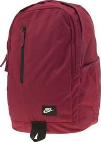 Nike Red All Access Soleday Backpack Bags Slick minimalistic styling is one way to carry your goodies and the Nike All Access Soleday Backpack is just that. Arriving in burgundy red fabric, this handy accessory features a large compartment, l http://www.c...