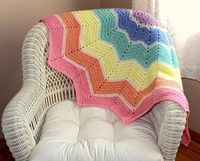 Round Baby Blanket / Bold and Colorful $74.99