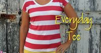 icandy handmade: (tutorial and pattern) Everyday Basics 4: Everyday Tee