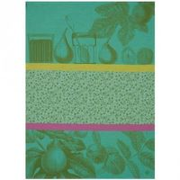 Confiture Green Tea Towel Set of 4 by Le Jacquard Francais $100.00