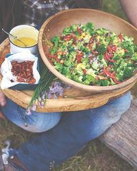 Broccoli salad - I am always on the look out for tasty ways to incorporate more veggies into our menu planning! This looks like a winner Jamie Oliver!