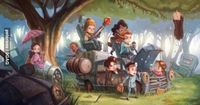 The firefly gang as toddlers :)