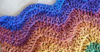 Calypso Afghan - love these colors