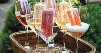 posh in a pinch: {New Year's Eve} Champagne Popsicles|party and celebration ideas