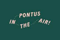 Logo, illustration, menu, business cards and graphics by Stockholm studio Bold for Arlanda Airport restaurant Pontus In The Air. Opinion by Richard Baird.